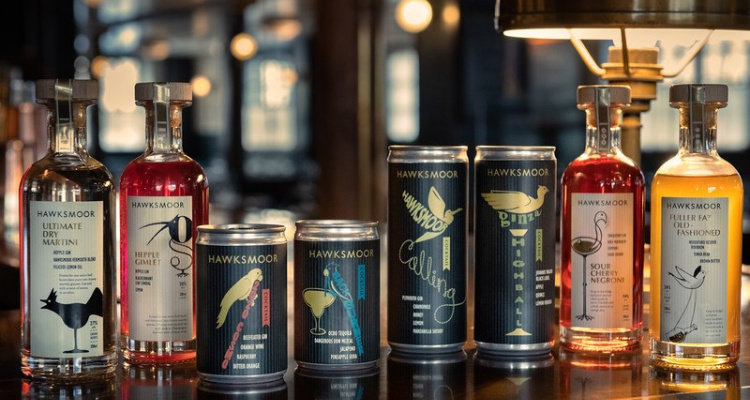 Hawksmoor canned cocktails