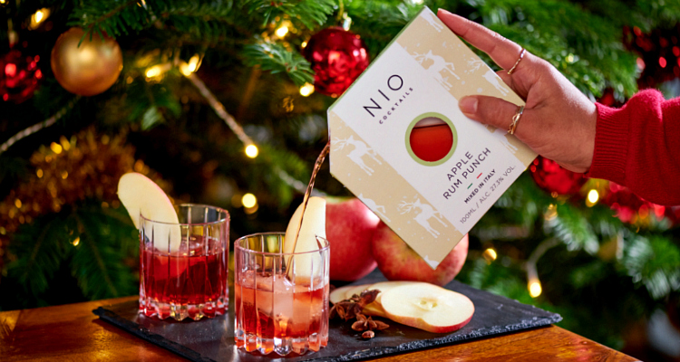 Nio Christmas Cocktail Delivery UK | DesignMyNight