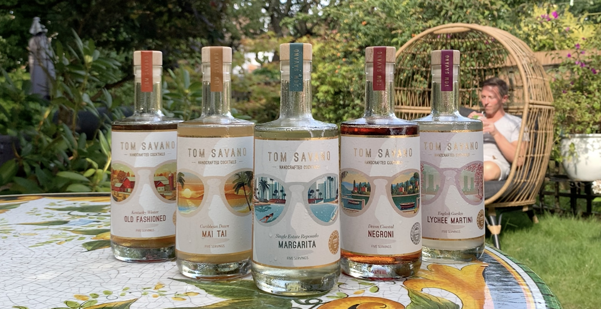 Tom Savano Home Delivery Cocktails