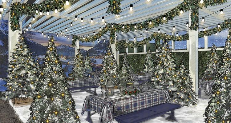 Pergola | Winter Restaurants For Instagram | DesignMyNight