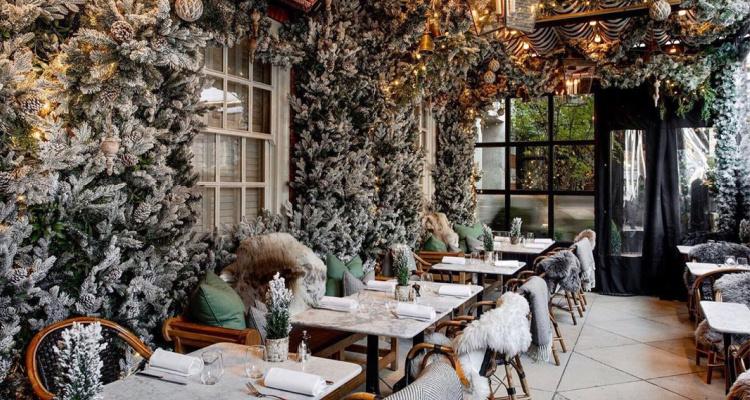 Dalloway Terrace | Instagram Restaurants In London Christmas | DesignMyNight