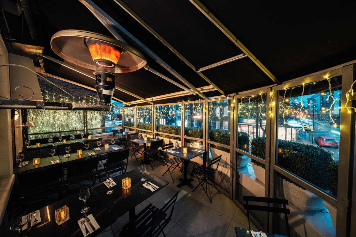 The Chapel Bar: best brunch places with a view in London