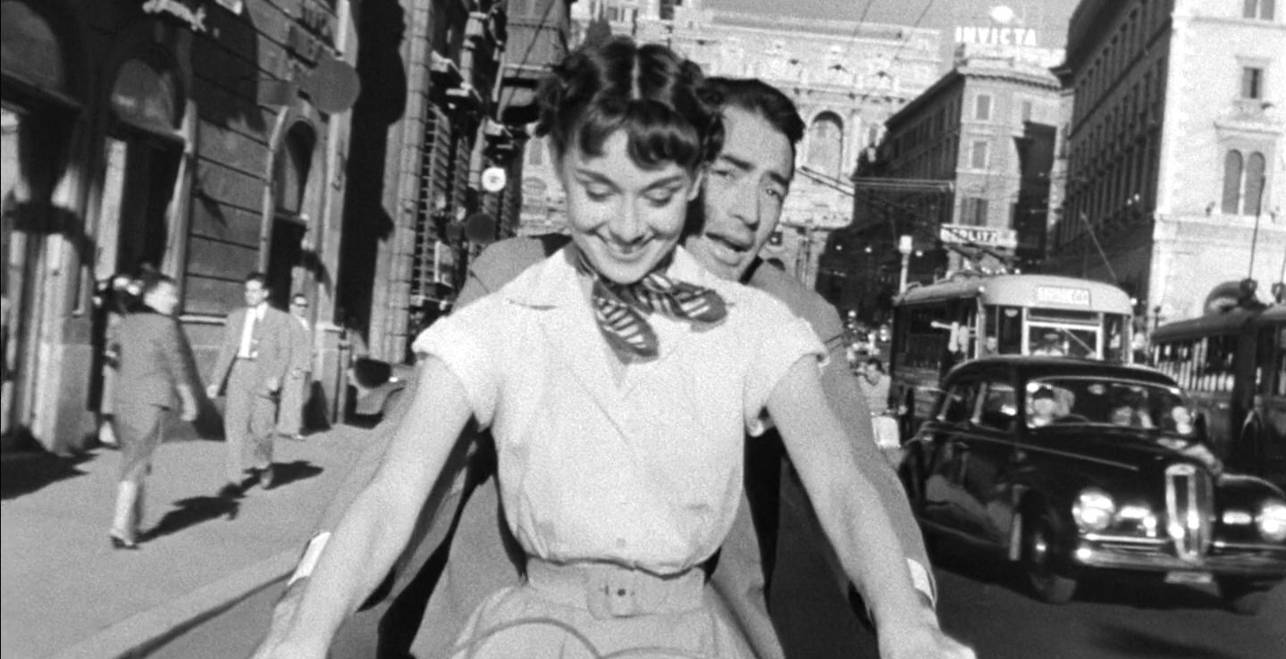 Valentines Cinema- Roman Holiday