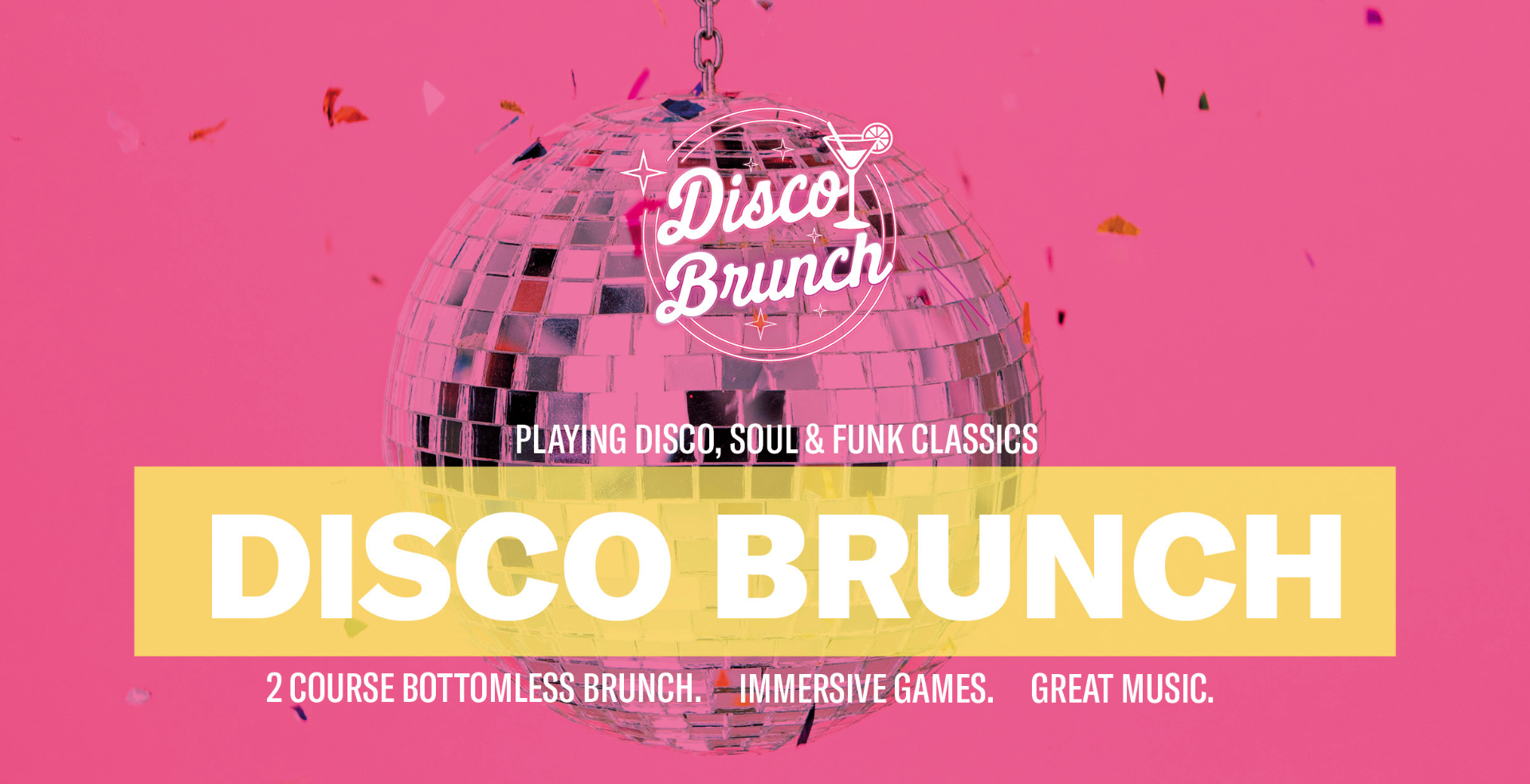 Disco Brunch: August 21st