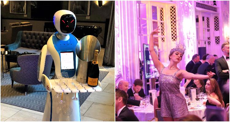 M Restaurants Champagne Robots | London Bar News | DesignMyNight