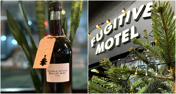 Fugitive Motel takeaway mulled wine