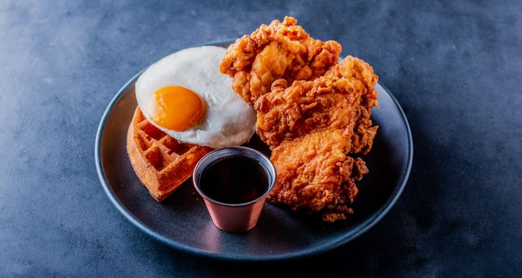 Chicken and Waffles London Dirty Bones