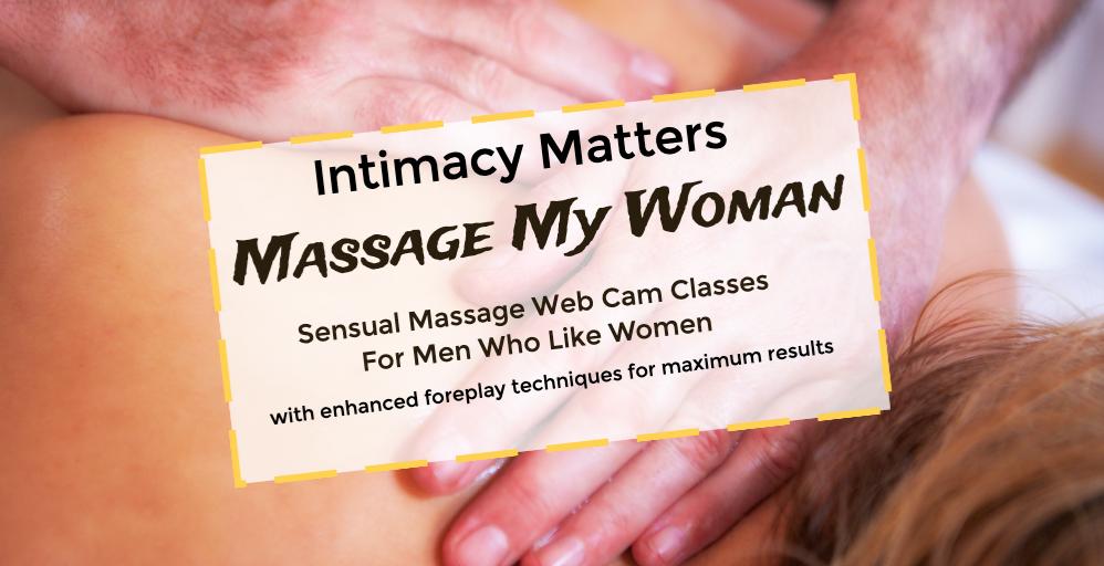 Erotic massage demonstration