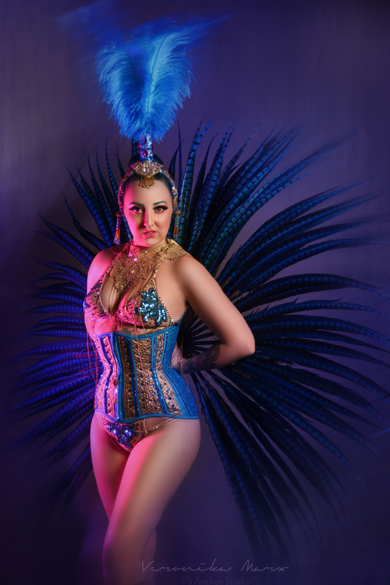 Online Burlesque Workshop With Lady Wildflower (UK) - Fan Dance