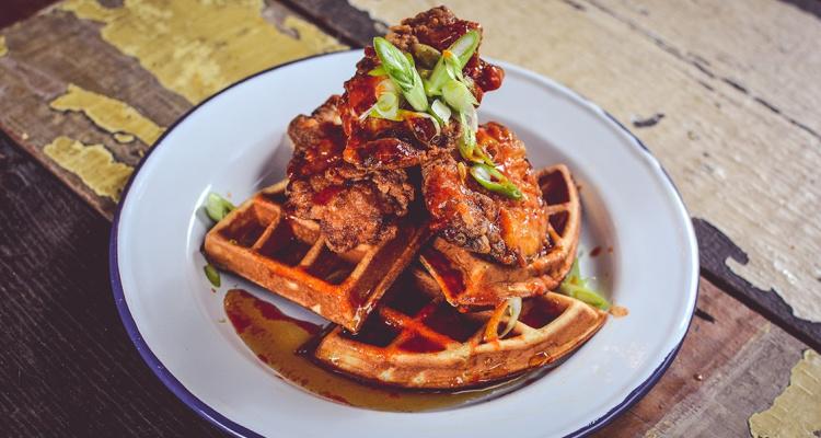 BrewDog | Spicy Chicken And Waffles Manchester | DesignMyNight