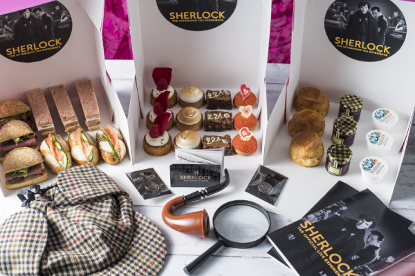 The Official Sherlock Afternoon Tea Experience at Home
