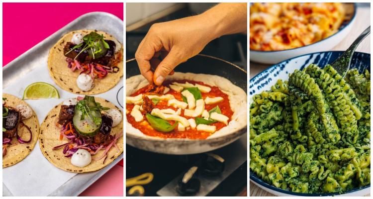 Pizza Pilgrims, Pasta Evangelists, Club Mexicana | Vegan DIY Meal Kits London | DesignMyNight