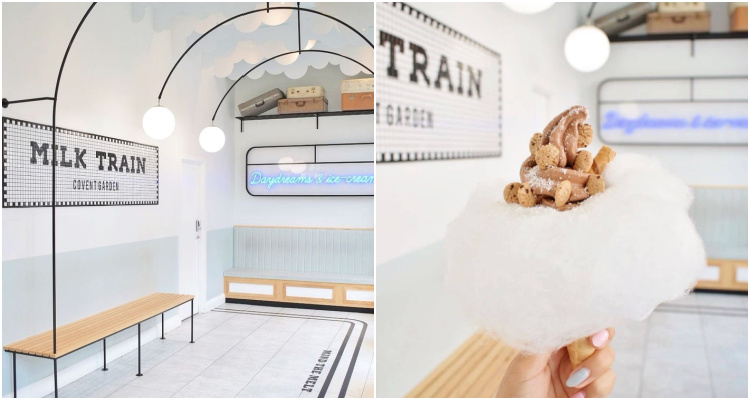 Milk Train Ice Cream London