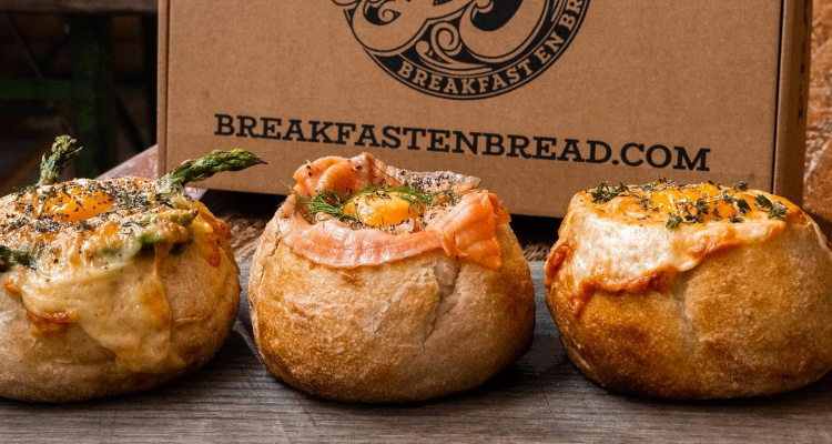 Baked En Bread | East London Brunch Delivery | DesignMyNight