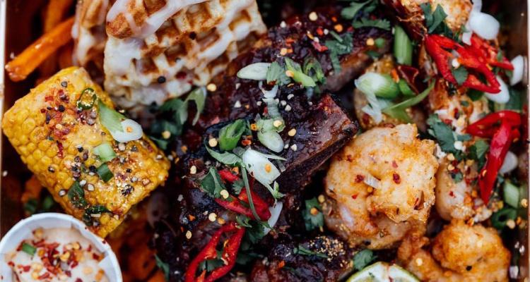 202 Kitchen | Trapbox Chicken And Waffles Manchester | DesignMyNight