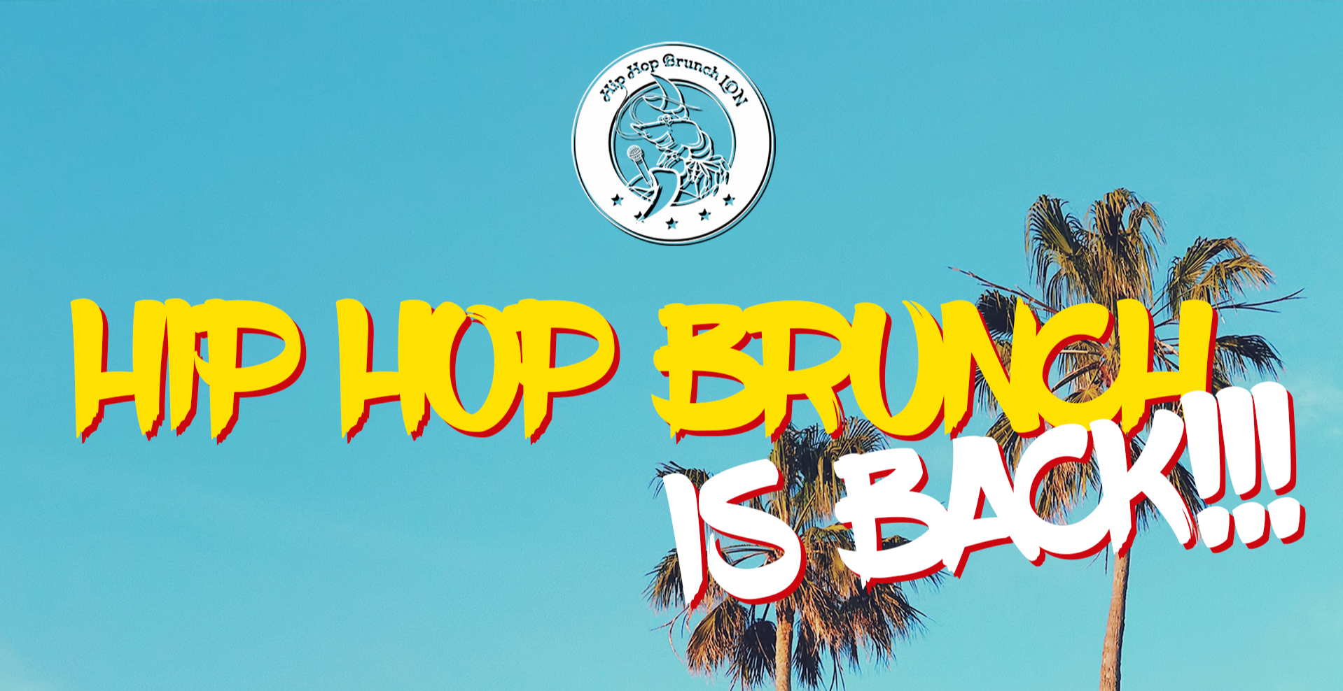 Hip Hop Brunch outdoors: April 24th