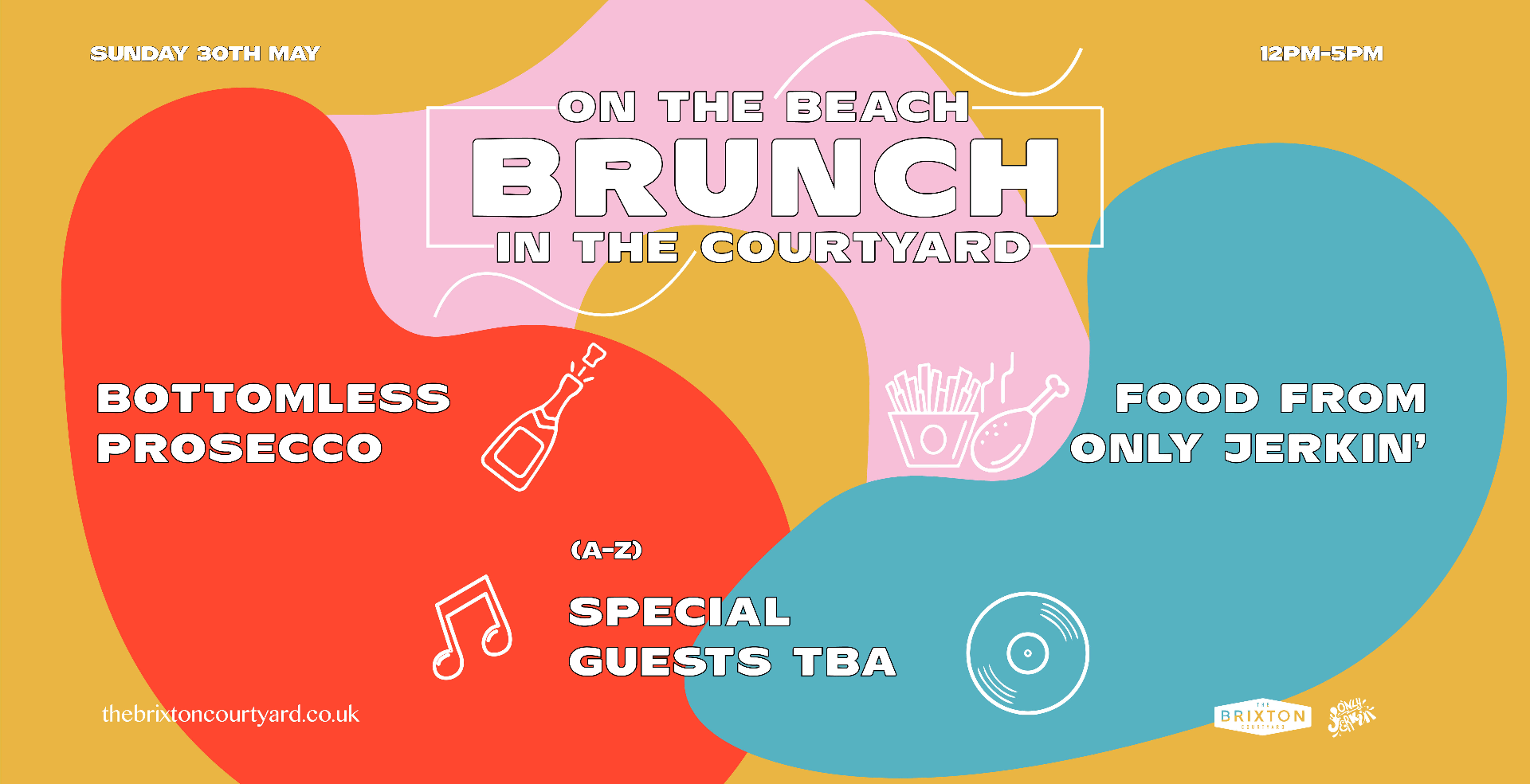 Bottomless... Brunch on the Beach & Brunch in the Courtyard w/ TBA