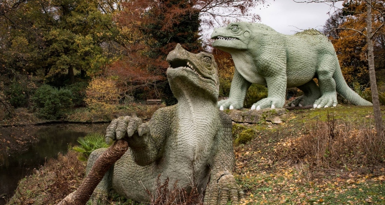 Crystal Palace Area Guide Dinosaurs