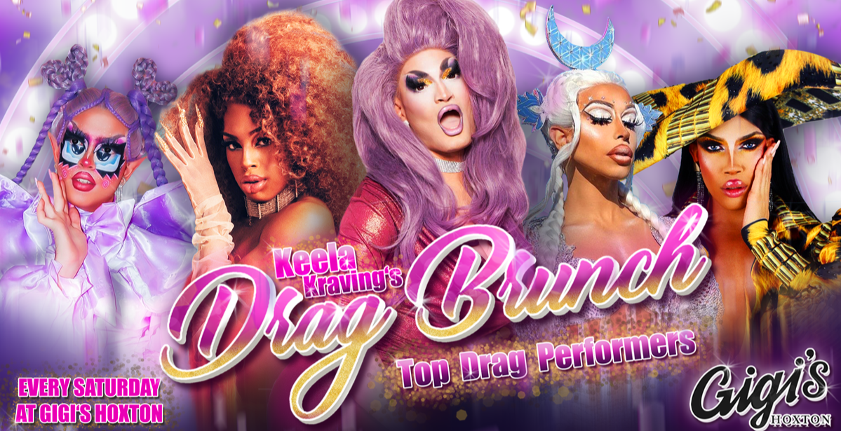 Keela Kraving's Drag Brunch at Gigi's Hoxton
