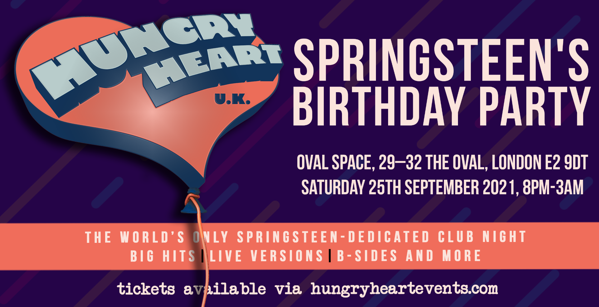 HUNGRY HEART- SPRINGSTEEN'S BIRTHDAY!
