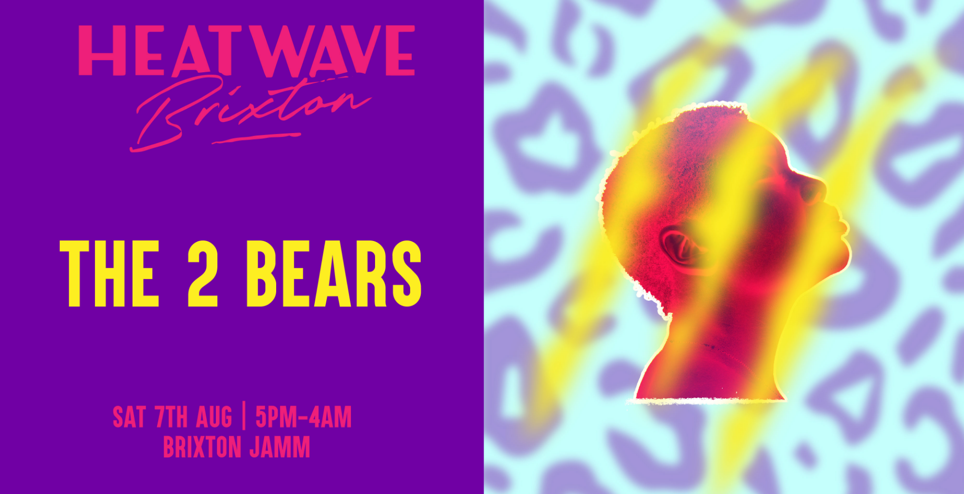 Heatwave Brixton: Day & Night Terrace Party w/ The 2 Bears