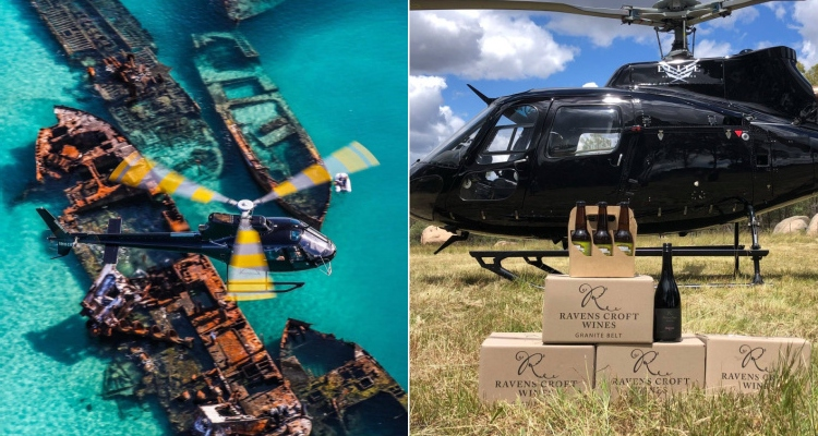 Cool Things To Do in Brisbane Helicopter Pub Crawl
