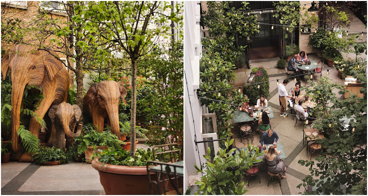La Goccia London Garden   DesignMyNight