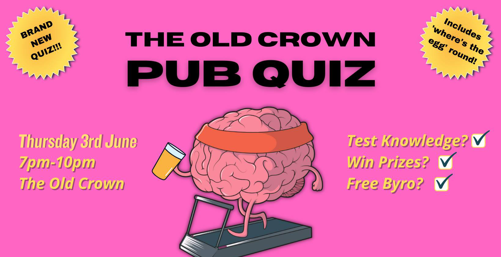 The Old Crown Pub Quiz