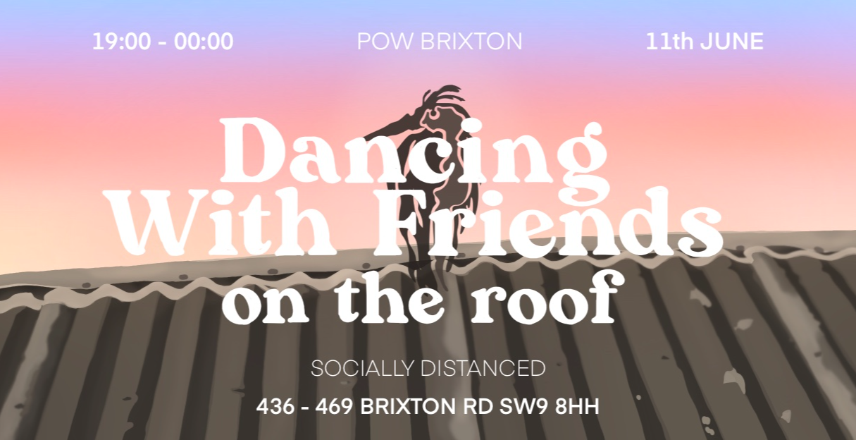 Dancing With Friends On The Roof