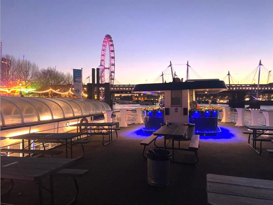 Thames Rooftop Boat Party