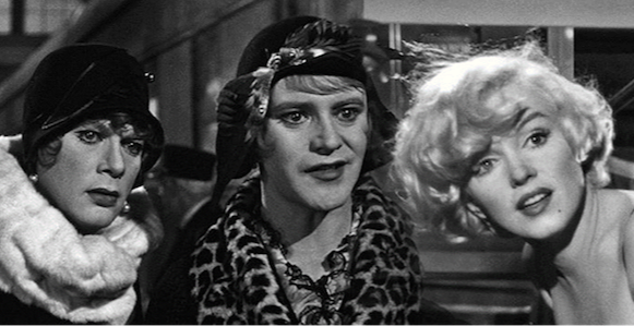 Summer pop up cinema- Some Like it Hot