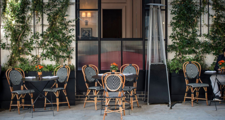 Marylebone Restaurant With Outdoor Seating
