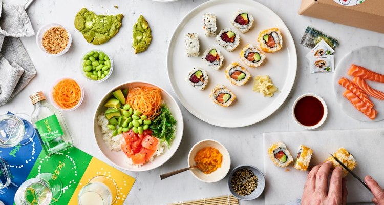 Best London Sushi Delivery Japan Centre DIY
