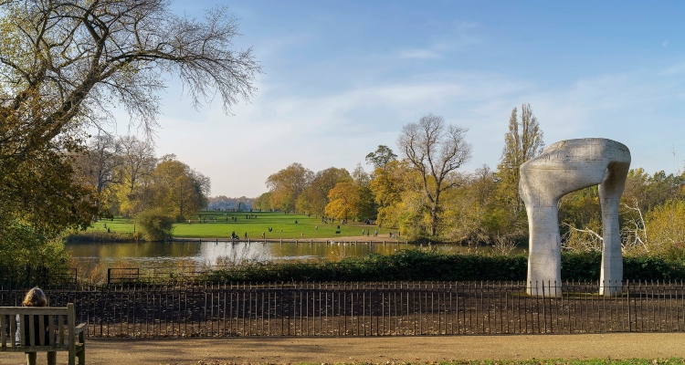 Richmond Park London Countryside
