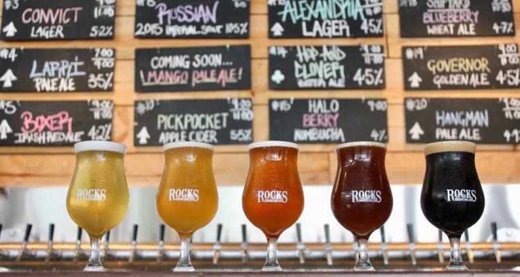 Rocks Brewery | Sydney Breweries And Taprooms | DesignMyNight