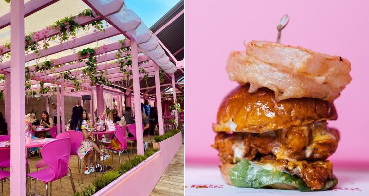 202 Kitchen Trapbox Pinkest Restaurant In Manchester | DesignMyNight