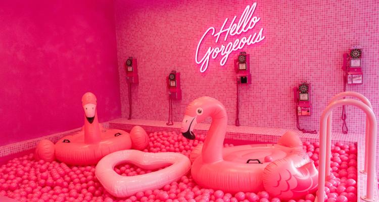 Archie's Pink Restaurants In Manchester | DesignMyNight