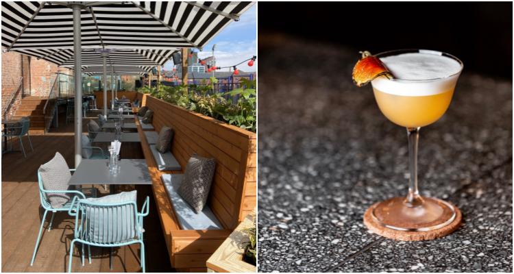 Outdoor Drinking & Dining At Ducie Street Warehouse | DesignMyNight