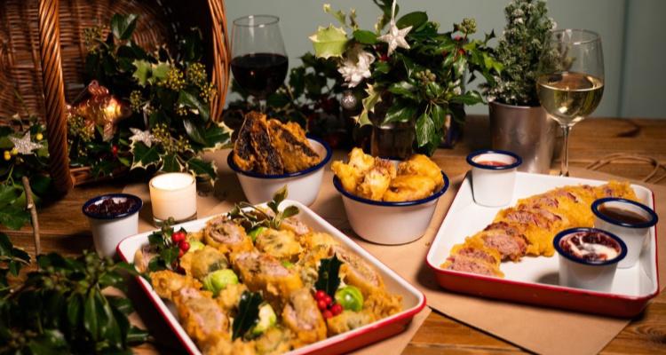 Deep Fried Christmas Dinner