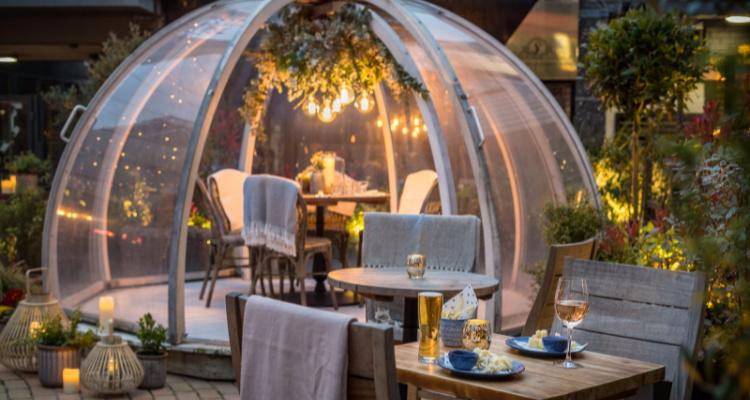 Private Dining Igloos: Coppa Club Brighton | DesignMyNight