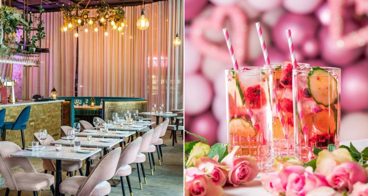 Menagerie Pink Restaurant Manchester | DesignMyNight