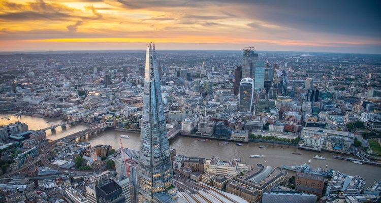 The View From The Shard Sunset   DesignMyNight