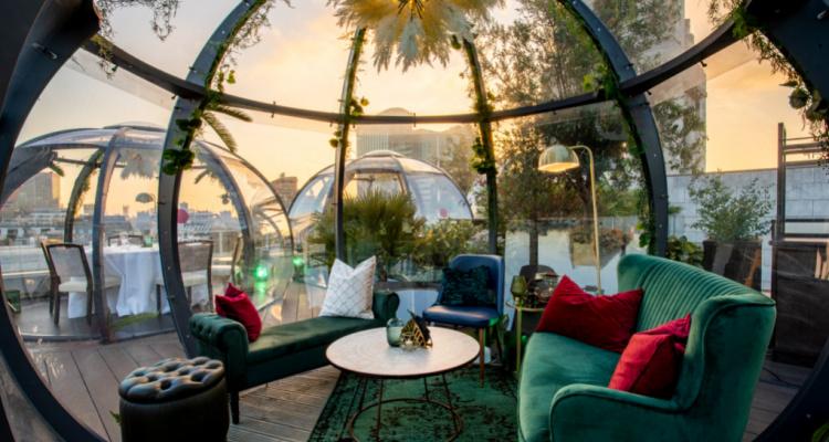 Montcalm Hotel: Aviary Rooftop Bar London | DesignMyNight