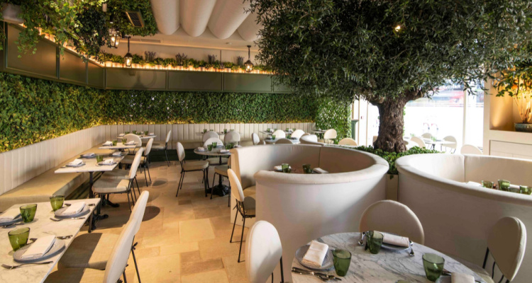 Como Garden Instagrammable Restaurant London   DesignMyNight