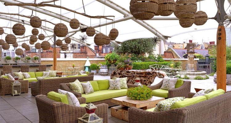 Ham Yard Hotel: Bar In Soho London | DesignMyNight