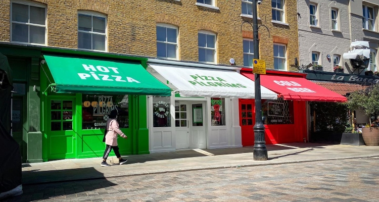 Pizza Pilgrims Waterloo Review   London Restaurant Review   DesignMyNight