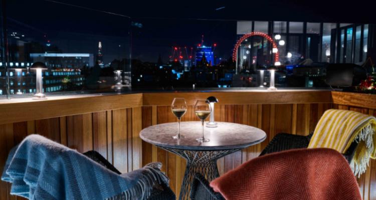 Trafalgar Hotel: Rooftop St James London | DesignMyNight