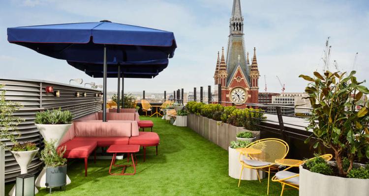 The Standard: Kings Cross Hotel Rooftop Bar | DesignMyNight