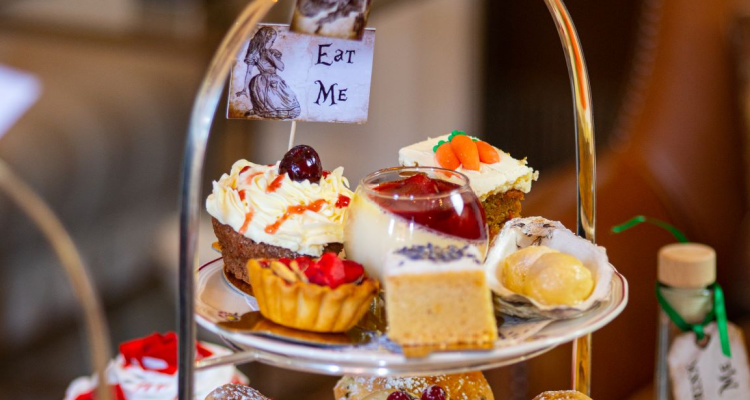 egerton house alice in wonderland afternoon tea review