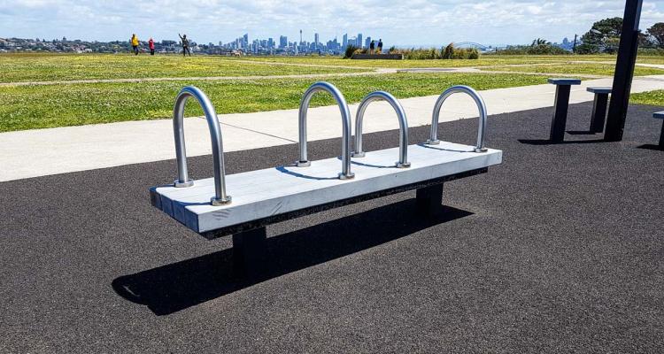 Dudley Page Reserve Outdoor Gym Equipment | DesignMyNight